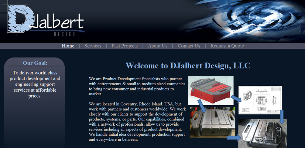 DJalbert Design - Customer Website