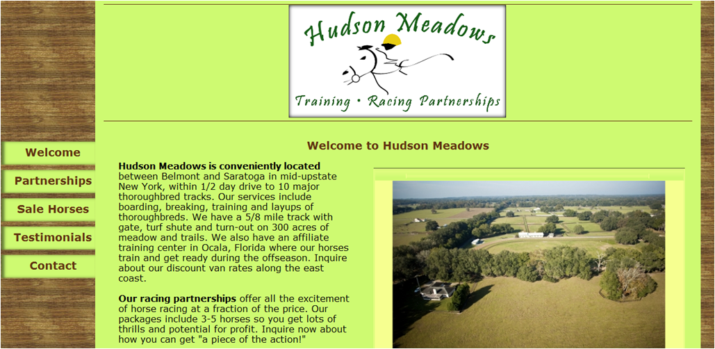 Hudson Meadows - Customer Website